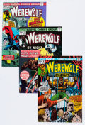 Bronze Age (1970-1979):Horror, Werewolf by Night Group (Marvel, 1973-76) Condition: AverageVF+.... (Total: 21 Comic Books)