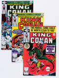 Modern Age (1980-Present):Science Fiction, King Conan Group (Marvel, 1980-85).... (Total: 24 Comic Books)
