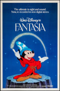 """Movie Posters:Animation, Fantasia (Buena Vista, R-1982 & R-1990). One Sheets (2) (27"""" X 41""""). Animation.. ... (Total: 2 Items)"""