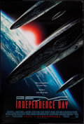 "Movie Posters:Science Fiction, Independence Day (20th Century Fox, 1996). One Sheets (2) (27"" X 40"") Styles B and C. Science Fiction.. ... (Total: 2 Items)"