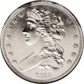 Patterns: , 1838 P50C Half Dollar, Judd-73 Restrike, Pollock-77, R.5, PR61 NGC.The obverse, once attributed to chief engraver William ...