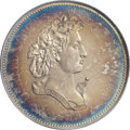 "Patterns: , 1859 P50C Half Dollar, Judd-241, Pollock-297, R.4, PR62 PCGS. The so-called ""French Head"" Liberty design for the half dolla..."