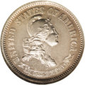 Patterns: , 1870 10C Standard Silver Ten Cents, Judd-855, Pollock-935, R.6-7,PR65 NGC. Continuing the same design as in 1869, this St...