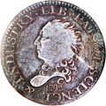 Early Half Dimes: , 1792 H10C Half Disme, Judd-7, Pollock-7, R.4, VG8 NGC. It is alwaysa special event when even a single 1792 half disme is ...
