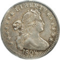 Early Half Dimes: , 1802 H10C XF45 PCGS. V-1, LM-1, R.5. The rarity of the 1802 halfdime is well known to collectors of United States coins. O...