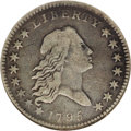 Early Half Dollars: , 1795 50C 2 Leaves VF25 NGC. O-110, R.4. Recut 9 in the date and 9x8berry arrangement on the reverse, with 2 inside berries...