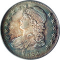 Bust Half Dollars: , 1832 50C Large Letters MS64 PCGS. O-101, R.2. The diagnostic diecrack that joins the eagle's left (facing) wing to the oli...