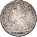 Seated Half Dollars: , 1842-O 50C Small Date, Small Letters VF30 PCGS. The 1842-O Reverseof 1839 half dollar is a significant rarity in all grade...