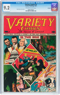 Golden Age (1938-1955):Miscellaneous, Variety Comics #2 Big Apple pedigree (Rural Home, 1945) CGC NM- 9.2 Off-white to white pages....