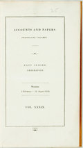 Books:Reference & Bibliography, [India]. East Indies: Emigration. Accounts and Papers, 1839....