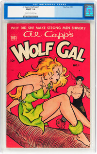 Al Capp's Wolf Gal #1 (Toby Publishing, 1951) CGC FN/VF 7.0 Cream to off-white pages