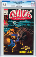 Bronze Age (1970-1979):Horror, Creatures on the Loose #12 Suscha News pedigree (Marvel, 1971) CGCNM+ 9.6 White pages....