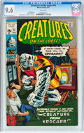 Bronze Age (1970-1979):Horror, Creatures on the Loose #13 (Marvel, 1971) CGC NM+ 9.6 Whitepages....