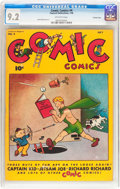 Golden Age (1938-1955):Humor, Comic Comics #4 Crowley Copy pedigree (Fawcett Publications, 1946) CGC NM- 9.2 Off-white pages....