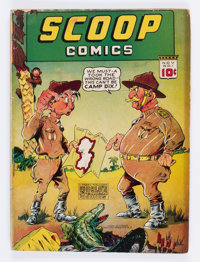 Scoop Comics #1 (Chesler, 1941) Condition: VG