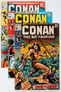 Bronze Age (1970-1979):Adventure, Conan the Barbarian Group (Marvel, 1970-71) Condition: Average VG+.... (Total: 11 Comic Books)