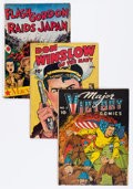 Golden Age (1938-1955):War, Comic Books - Assorted Golden Age War Comics Group (Various Publishers, 1940s-50s) Condition: Average GD/VG.... (Total: 10 Comic Books)