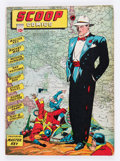 Golden Age (1938-1955):Superhero, Scoop Comics #3 (Chesler, 1942) Condition: GD....