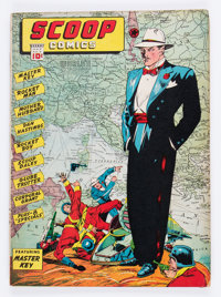 Scoop Comics #3 (Chesler, 1942) Condition: GD