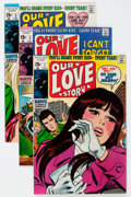 Bronze Age (1970-1979):Romance, Our Love Story Group (Marvel, 1969-73) Condition: Average VF....(Total: 9 Comic Books)