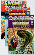 Bronze Age (1970-1979):Horror, Swamp Thing #1-14 Group (DC, 1972-74) Condition: Average VF+....(Total: 14 Comic Books)