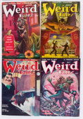 Pulps:Horror, Weird Tales Group (Popular Fiction, 1949-50) Condition: AverageVG/FN.... (Total: 12 Items)
