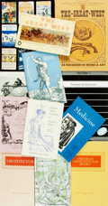 Books:Books about Books, [Books about Books]. Large Lot of Rare Book Auction Catalogs. Various publishers and dates. ...