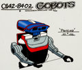 Animation Art:Color Model, Challenge of the GoBots Psycho Color Model Cel Animation Art(Hanna-Barbera, 1984)....