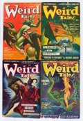 Pulps:Horror, Weird Tales Group (Popular Fiction, 1940-42) Condition: AverageVG.... (Total: 8 Items)