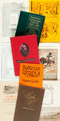 Books:Books about Books, [Books about Books]. Large Lot of Rare Book Auction Catalogs, Bibliographies, Compendiums and Anthologies. Various publisher...