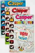 Silver Age (1956-1969):Humor, Casper the Friendly Ghost Related File Copy Short Box Group (Harvey, 1960s-70s) Condition: Average NM-....