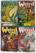 Pulps:Horror, Weird Tales Group (Popular Fiction, 1943-44) Condition: AverageVG-.... (Total: 10 Items)