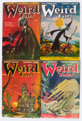 Pulps:Horror, Weird Tales Group (Popular Fiction, 1947-48) Condition: AverageVG+.... (Total: 12 Items)