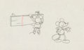 Animation Art:Production Drawing, Camping Out Minnie and Mickey Mouse Production DrawingAnimation Art (Walt Disney, 1934). ...