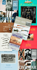 Books:Americana & American History, [American Military History]. [Weapons]. Group of Nine Books aboutArms and Equipment Used by American Military. Various publ...(Total: 9 Items)