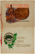 Books:Americana & American History, [Gettysburg]. Pair of Souvenir Albums of Gettysburg. Variouspublishers and dates, circa 1910. ... (Total: 2 Items)