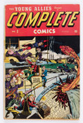 Golden Age (1938-1955):Superhero, Complete Comics #2 (Timely, 1945) Condition: GD....