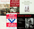 Books:Americana & American History, Group of Six Books on Civil War History. Various publishers anddates. ... (Total: 6 Items)