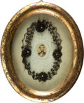 Political:Presidential Relics, Abraham Lincoln: Unique Mourning Relic. ... (Total: 2 Items)