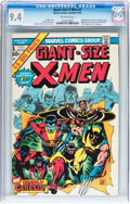 Bronze Age (1970-1979):Superhero, Giant-Size X-Men #1 (Marvel, 1975) CGC NM 9.4 Off-white pages....