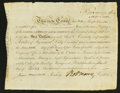 Colonial Notes:Connecticut, Robert Morris Signed Bond. North American Land Company. April 18,1795. Extremely Fine. ...
