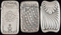 Silver Smalls:Match Safes, THREE GORHAM SILVER MATCH SAFES, Providence, Rhode Island, circa1889. Marks: (lion-anchor-G), STERLING; 965; 750, COPYRIG...(Total: 3 Items)