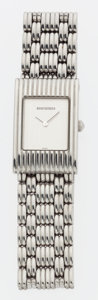 Luxury Accessories:Accessories, Boucheron Stainless Steel Reflet Watch with Stainless Steel Strap....