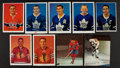 Hockey Cards:Lots, 1960's Chex and General Mills Hockey Card Group (9). ...