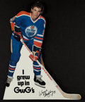 Hockey Collectibles:Others, 1980 GWG Wayne Gretzky Retail Counter Display Sign. ...