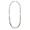 Estate Jewelry:Necklaces, Sapphire Bead Necklace. ...