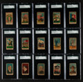 """Non-Sport Cards:Lots, 1910's-20's A.T.P.M.P.C. """"War Scenes"""" and W545 SGC Graded Group(15). ..."""