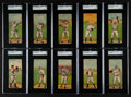 "Baseball Cards:Lots, 1911 T201 Mecca ""Double Folders"" SGC Collection (21). ..."