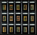 Non-Sport Cards:Sets, 1920's W545 Anonymous Military SGC Graded Partial set (58). ...