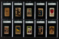 Non-Sport Cards:Lots, 1880's - 1920's Non-Sports SGC Graded Collection (22). ...